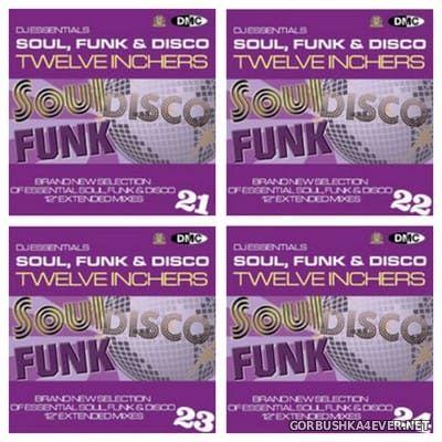 [DMC] DJ Essentials - Soul, Funk & Disco Twelve Inchers vol 21 - vol 24