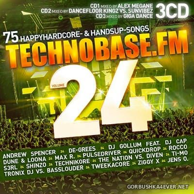 Technobase.FM vol 24 [2019] / 3xCD