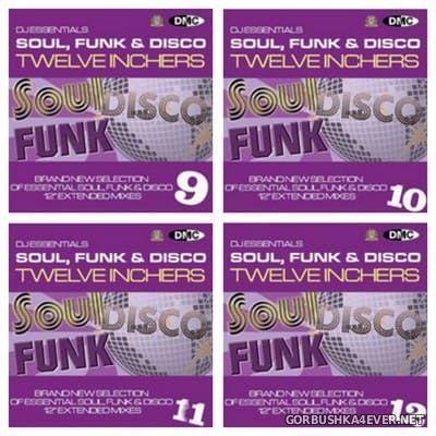 [DMC] DJ Essentials - Soul, Funk & Disco Twelve Inchers vol 09 - vol 12