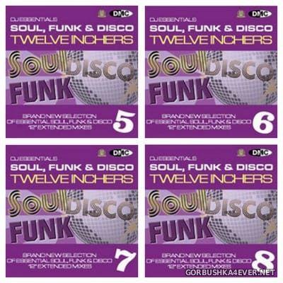 [DMC] DJ Essentials - Soul, Funk & Disco Twelve Inchers vol 05 - vol 08