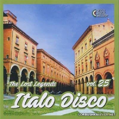Italo Disco - The Lost Legends vol 25 [2018]