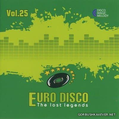Euro Disco - The Lost Legends vol 25 [2018]