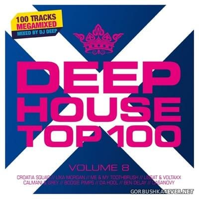Deep House Top 100 vol 8 [2019] / 2xCD / Mixed by DJ Deep