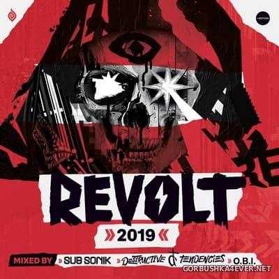 Revolt 2019 (Mixed By Sub Sonik, Destructive Tendencies & O.B.I) [2019] / 3xCD