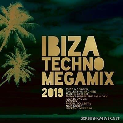 Ibiza Techno Megamix 2019 [2019] / 3xCD / Mixed by DJ Deep