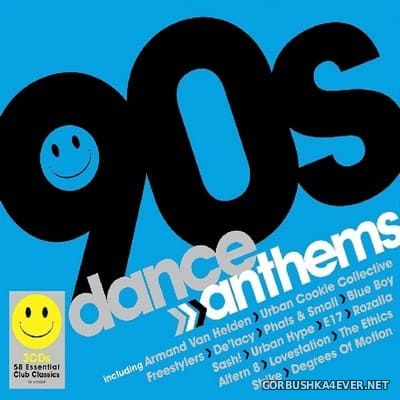 90s Dance Anthems [2019] / 3xCD