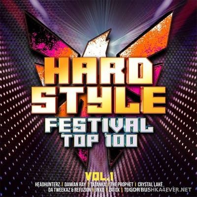 Hardstyle Festival Top 100 vol 1 [2019] / 2xCD / Mixed by DJ Deep