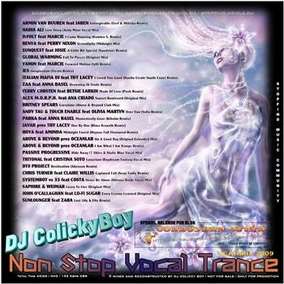 DJ ColickyBoy - Non Stop Vocal Trance - YearMix 2009