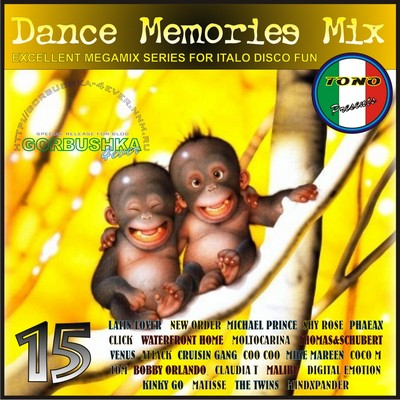 DJ Tono - Dance Memories Mix volume 15