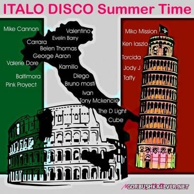 Italo Disco Summer Time [2019] Mixed by JLB Deejay