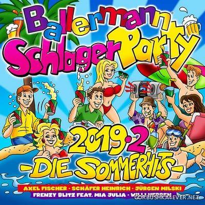 Ballermann Schlagerparty 2019.2 - Die Sommerhits [2019] / 2xCD