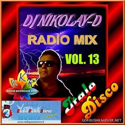 DJ Nikolay-D - Italo Disco Radio Mix vol 13 [2019]