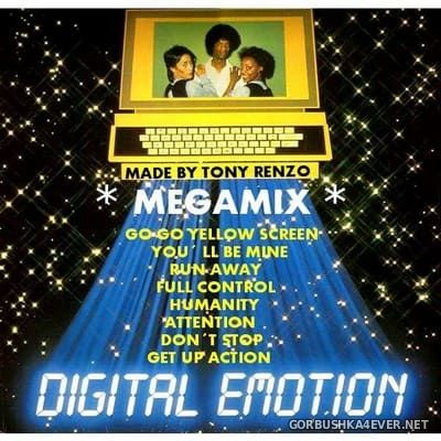 Digital Emotion - MegaMix [2019] by Tony Renzo