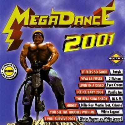 [Max Music] Megadance 2001 [2000] / 2xCD