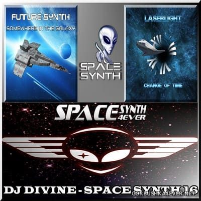 DJ Divine - Space Synth Mix 16 [2019]