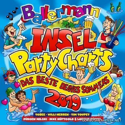 Ballermann Inselpartycharts - Das Beste Deines Sommers [2019] / 2xCD