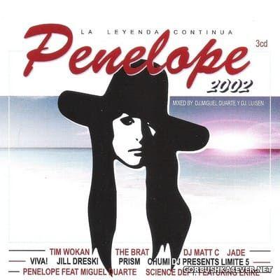 [Bit Music] Penelope 2002 - La Leyenda Continua [2002] / 3xCD by DJ Miguel Duarte & DJ Luisen