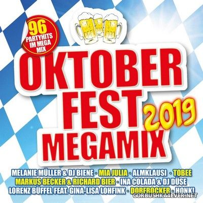 Oktoberfest Megamix 2019 [2019] / 2xCD / Mixed by DJ Deep