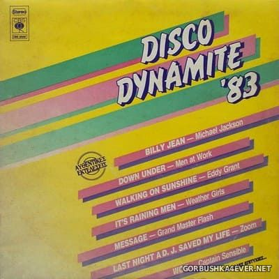 [CBS] Disco Dynamite '83 [1983] Mixed by Vassilis Lalos