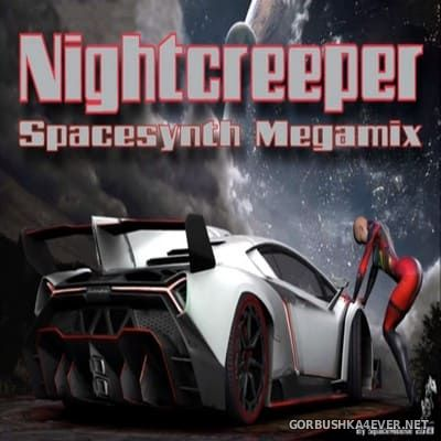 DJ SpaceMouse - Nightcreeper Spacesynth Megamix [2019]