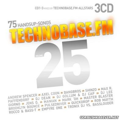 Technobase.FM vol 25 [2019] / 3xCD