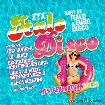 ZYX Italo Disco - New Generation vol 15 [2019] / 2xCD
