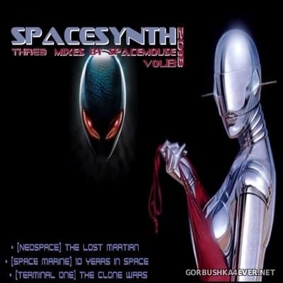 DJ SpaceMouse - Spacesynth Three Mixes vol 13 [2019]