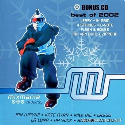 [Antler-Subway] Mixmania 2002/05 [2002] / 2xCD / Mixed by Luc Rigaux