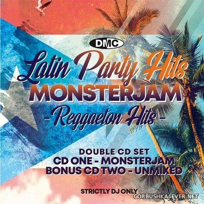 [DMC] Monsterjam - Latin Party Hits vol 1 [2019] / 2xCD / Mixed By DJ Ivan Santana