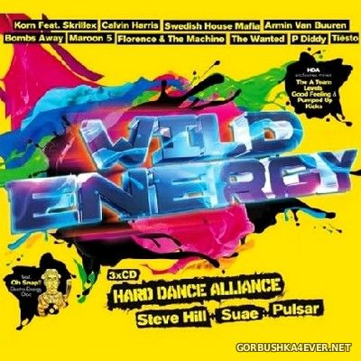 Wild Energy 2012 (Mixed by Hard Dance Alliance) [2012] / 3xCD