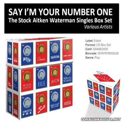 Stock Aitken Waterman Singles Box Set [2015] / 31xCD