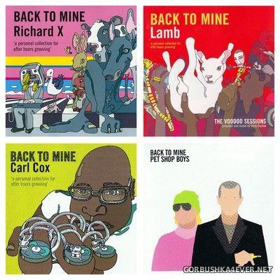 [DMC] Back To Mine vol 17 - vol 20 [2004-2005]