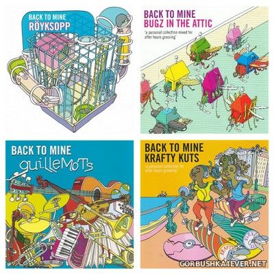 [DMC] Back To Mine vol 25 - vol 28 [2007-2008]
