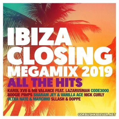 Ibiza Closing Megamix 2019 - All The Hits [2019] / 2xCD / Mixed by DJ Deep