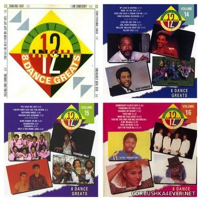 Best Of 12 Inch Gold vol 13 - vol 16 [1990-1991]