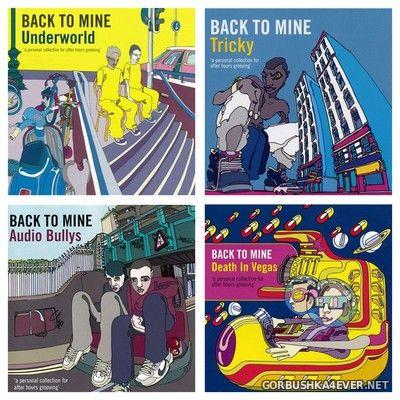 [DMC] Back To Mine vol 13 - vol 16 [2003-2004]
