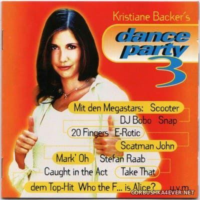 Kristiane Backer's Dance Party 3 [1995] / 2xCD