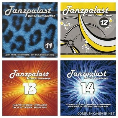 Tanzpalast Dance Compilation vol 11 - vol 14 [2003-2004]