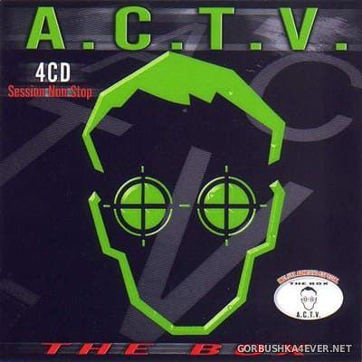 [Contraseña Records] A.C.T.V. - The Box [2000] / 4xCD / Mixed by Futura