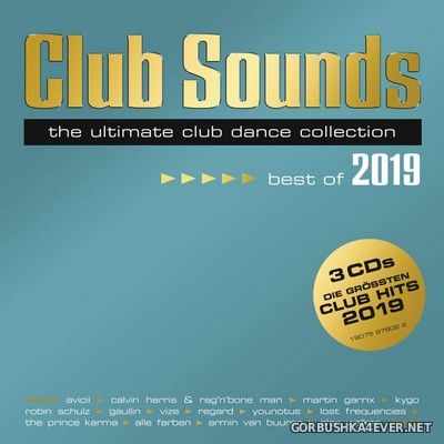 Club Sounds - Best Of 2019 [2019] / 3xCD
