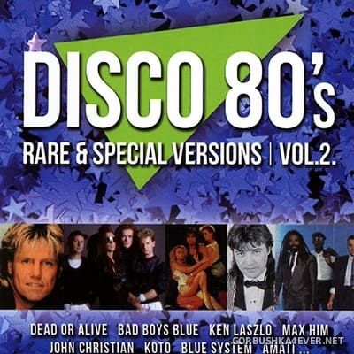 Disco 80's (Rare & Special Versions) vol 2 [2016]