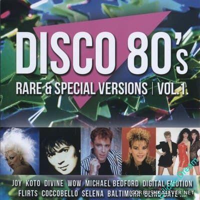 Disco 80's (Rare & Special Versions) vol 1 [2016]