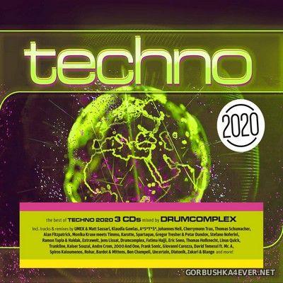 [ZYX] Techno 2020 [2019] / 3xCD / Mixed by Drumcomplex