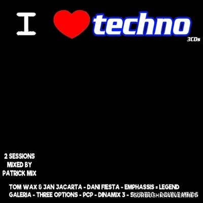 [Recycling Bin Music] I Love Techno [2019] / 3xCD / Mixed by Patrick Mix