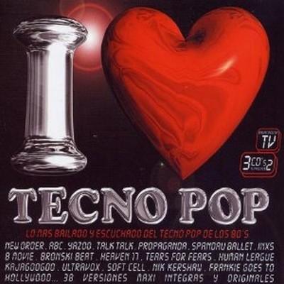 I Love Tecno Pop Vol.1 [1998] / 3xCD