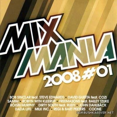 [EMI] Mixmania 2008#01 [2007] Mixed by Jan Godrie & Ronny Caslo