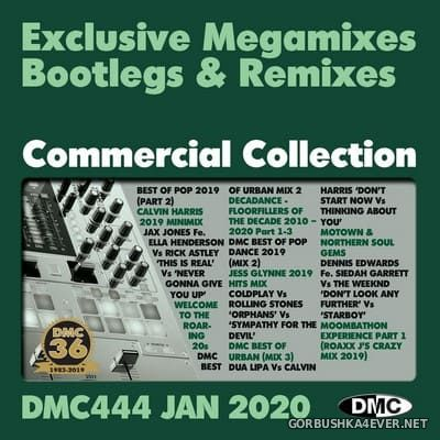 DMC Commercial Collection 444 [2020] January / 2xCD