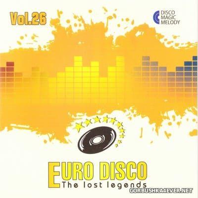 Euro Disco - The Lost Legends vol 26 [2019]