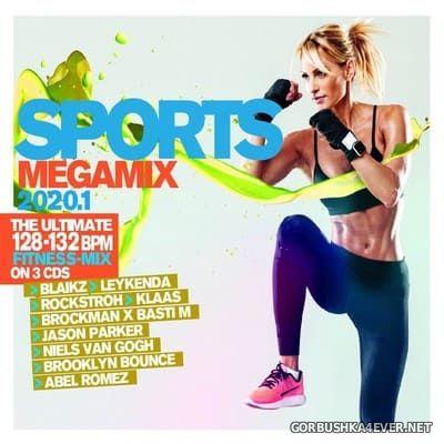 Sports Megamix 2020.1 [2020] / 3xCD / Mixed by DJ Deep