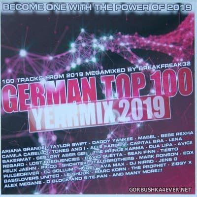 German Top 100 Yearmix 2019 [2020] Mixed By Breakfreak32